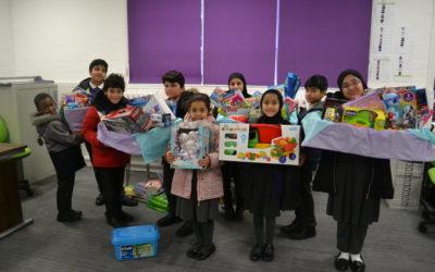 School pupils help Birmingham's vulnerable communities