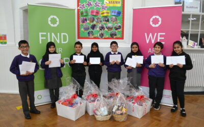 Caring pupils raise funds with special festive charity drive
